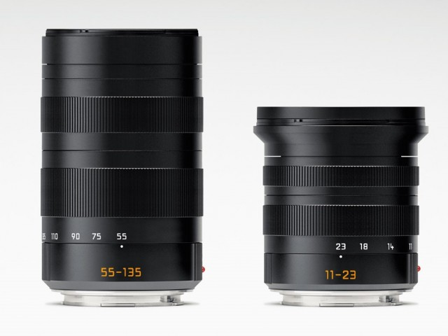 Leica T 11-23mm and 55-135mm Lenses